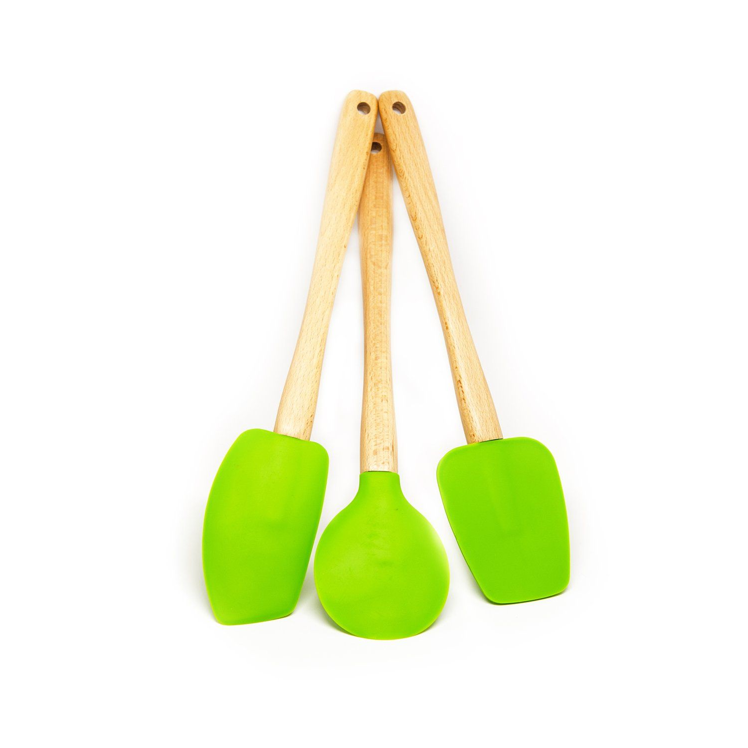 Really Any Wood Handled Spatulas With Heat Resistant