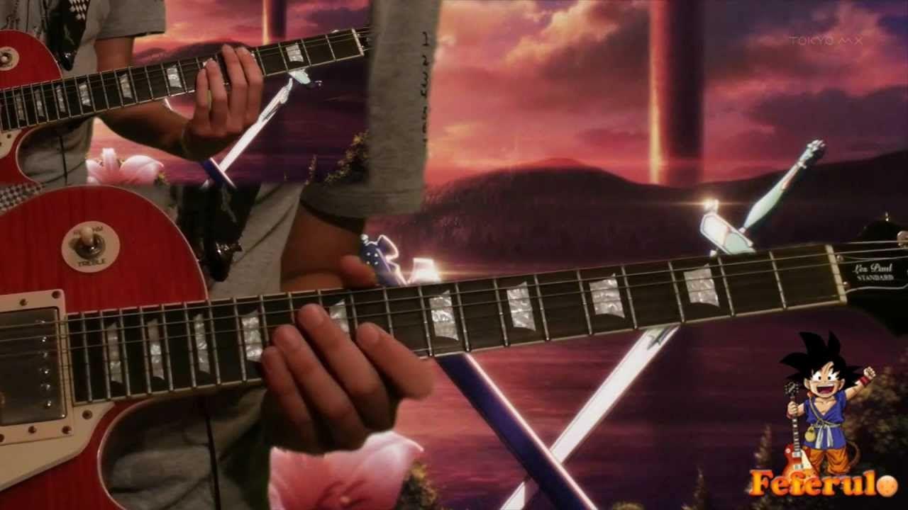 Guitar Cover Yume Sekai Sword Art Online Tabs Backing Track