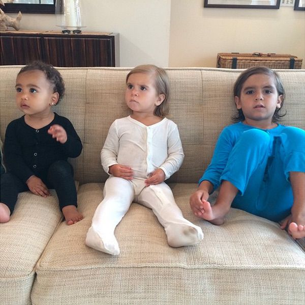 North West, Penelope Disick and Mason Disick