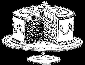 Free Vintage Digital Stamps Free Digital Art Stamp Sweet Cake Cake Drawing Digi Stamps Cake Clipart