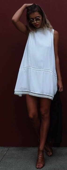 #summer #mishkahboutique #outfits | Little White Dress