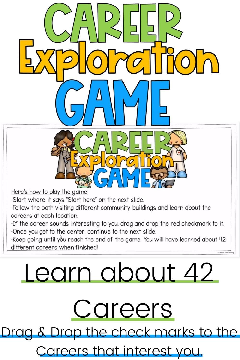 Digital Career Exploration Game Video Elementary Counseling Early Elementary Resources Upper Elementary Resources