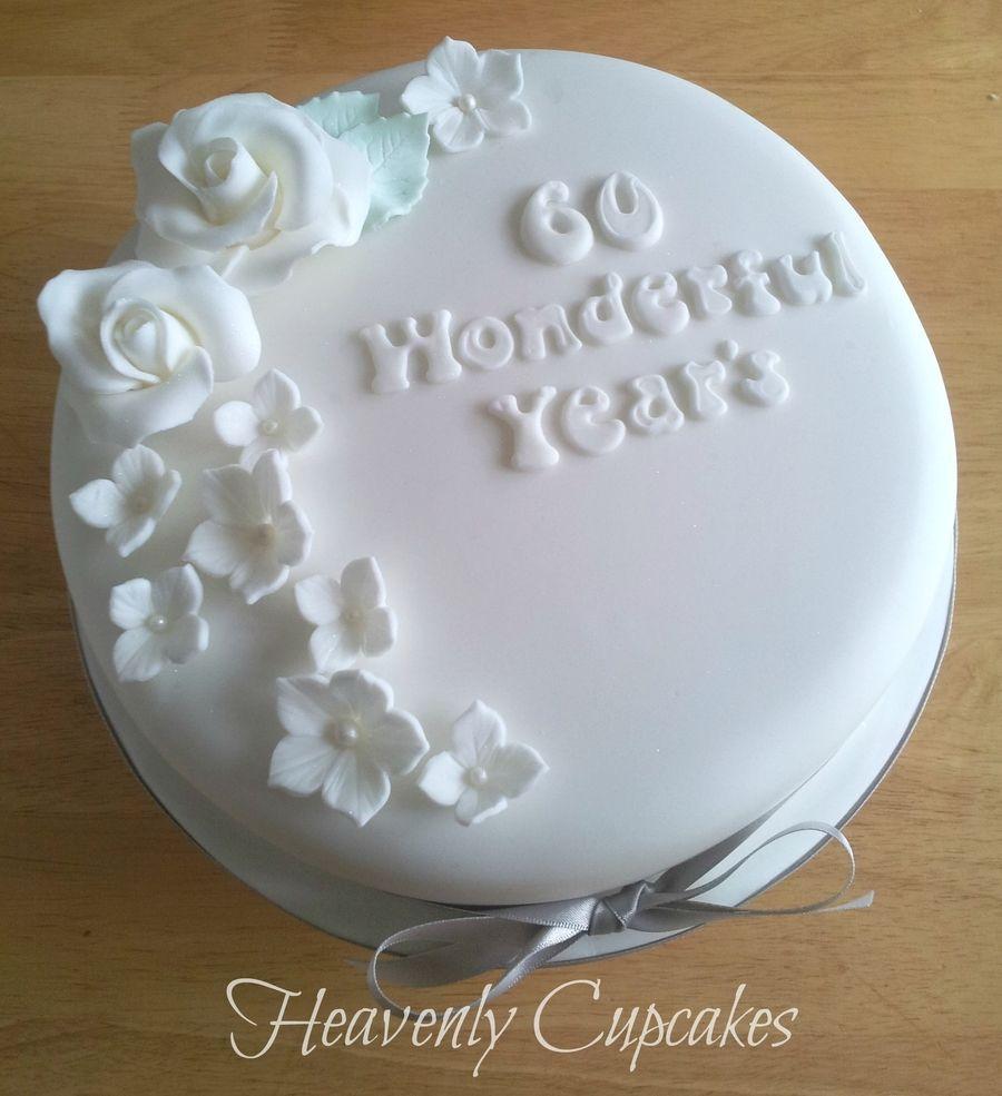 60Th Anniversary Cake Diamond Wedding