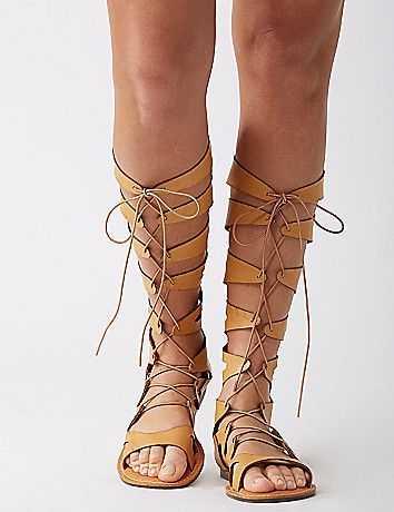 a3241d9987d Lane Bryant Tall gladiator sandal   Yes please! Get them now on ShopStyle  and get ready for Coachella.