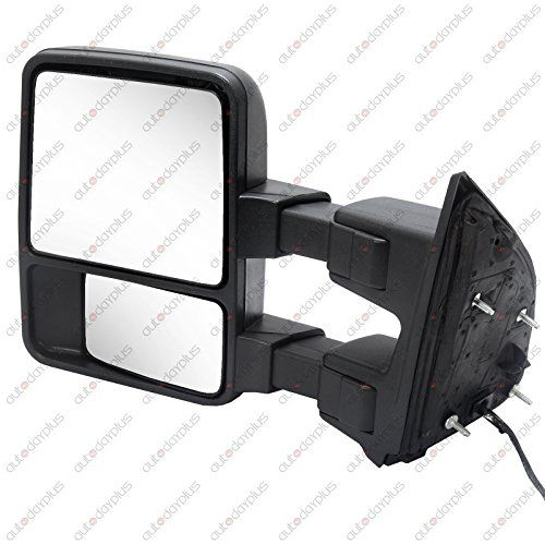 Towing Tow Mirrors Power Heated Dual Glass For 99 02 Ford F250 Ford Telescope