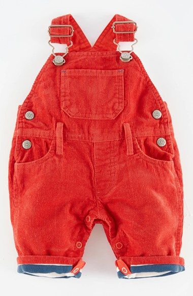 21abf52c9 Mini Boden 'Classic' Lined Corduroy Overalls (Baby Boys) available at  #Nordstrom