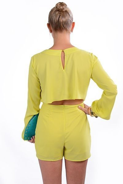 Yellow Romper NEW ARRIVALS