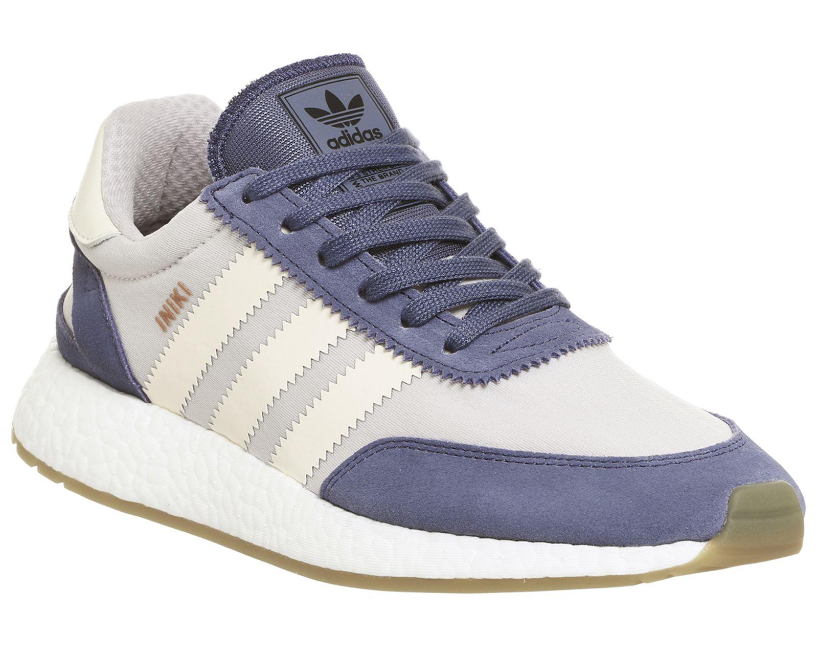 Adidas, iniki runner, super viola white cuori pinterest