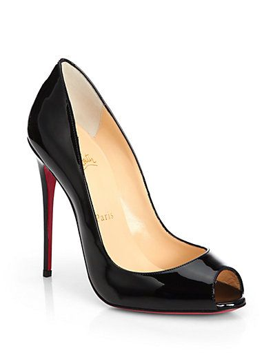 d7f96365a85 Youpi for these beautiful new peep toe Louboutins | Shoe-mania ...