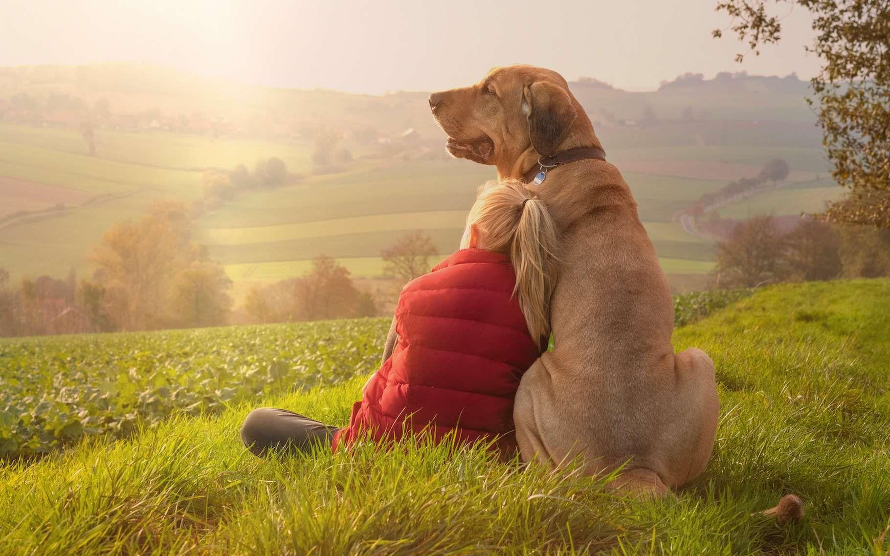 Le chien est le meilleur ami de l'Homme depuis au moins 30