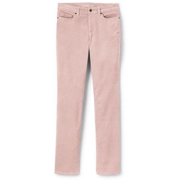 4b4a8c68326e8 Lands  End Women s Plus Size Mid Rise Straight Leg Corduroy Pants ( 69) ❤