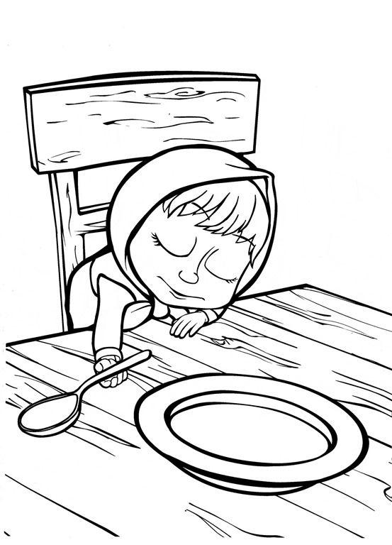Masha_e_Urso_Bear_boomerang_desenhos_imprimir_colorir ...