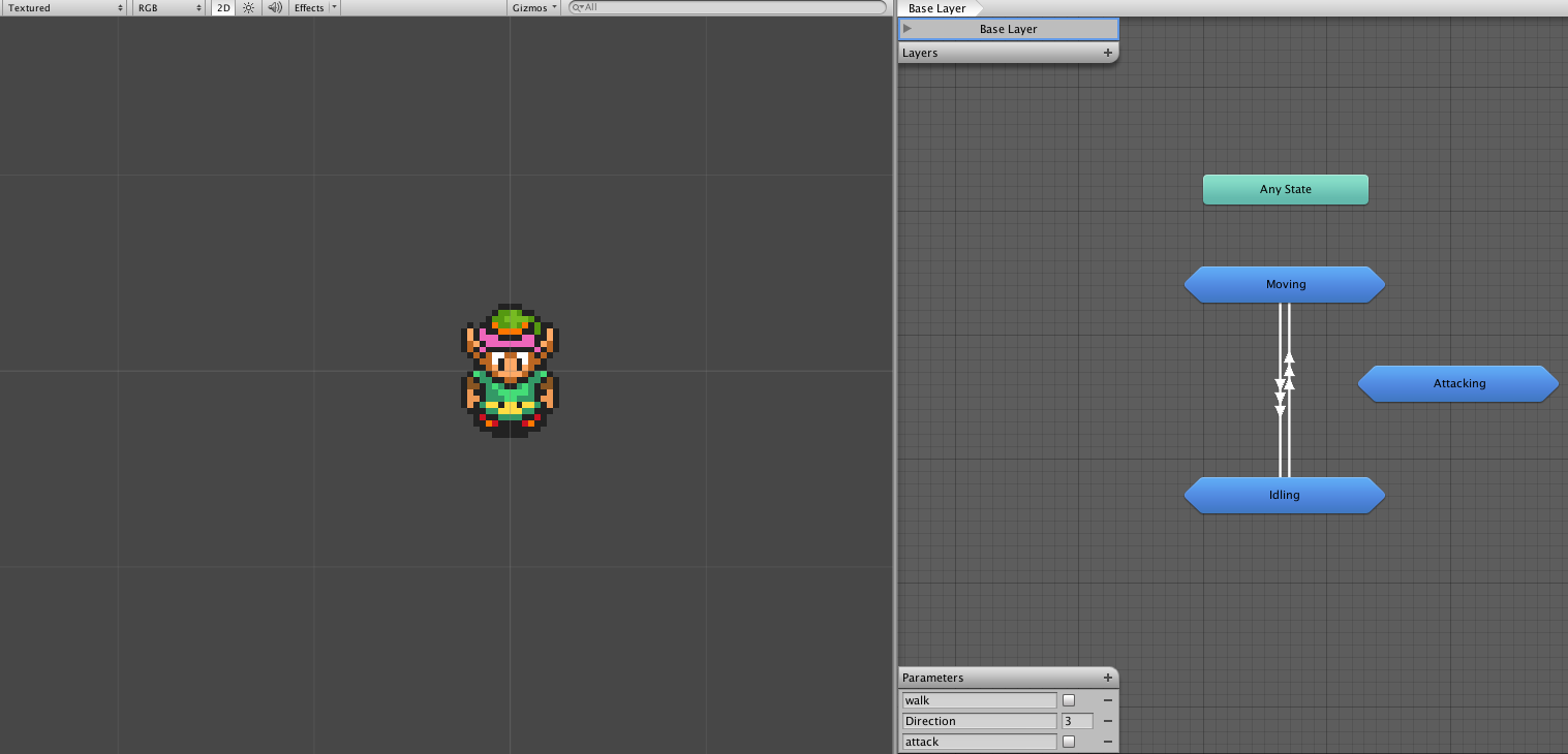 Creating a 2D Zelda Clone in Unity | Programming | Unity