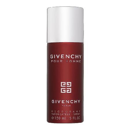 GIVENCHY Pour Homme Deodorant Spray 150ml 0026390 GIVENCHY Pour Homme is a classic woodsy fragrance with a blend of cirtus fruit, exotic spices and masculine woods. (Barcode EAN=3274870306594) http://www.MightGet.com/may-2017-1/givenchy-pour-homme-deodorant-spray-150ml-0026390.asp