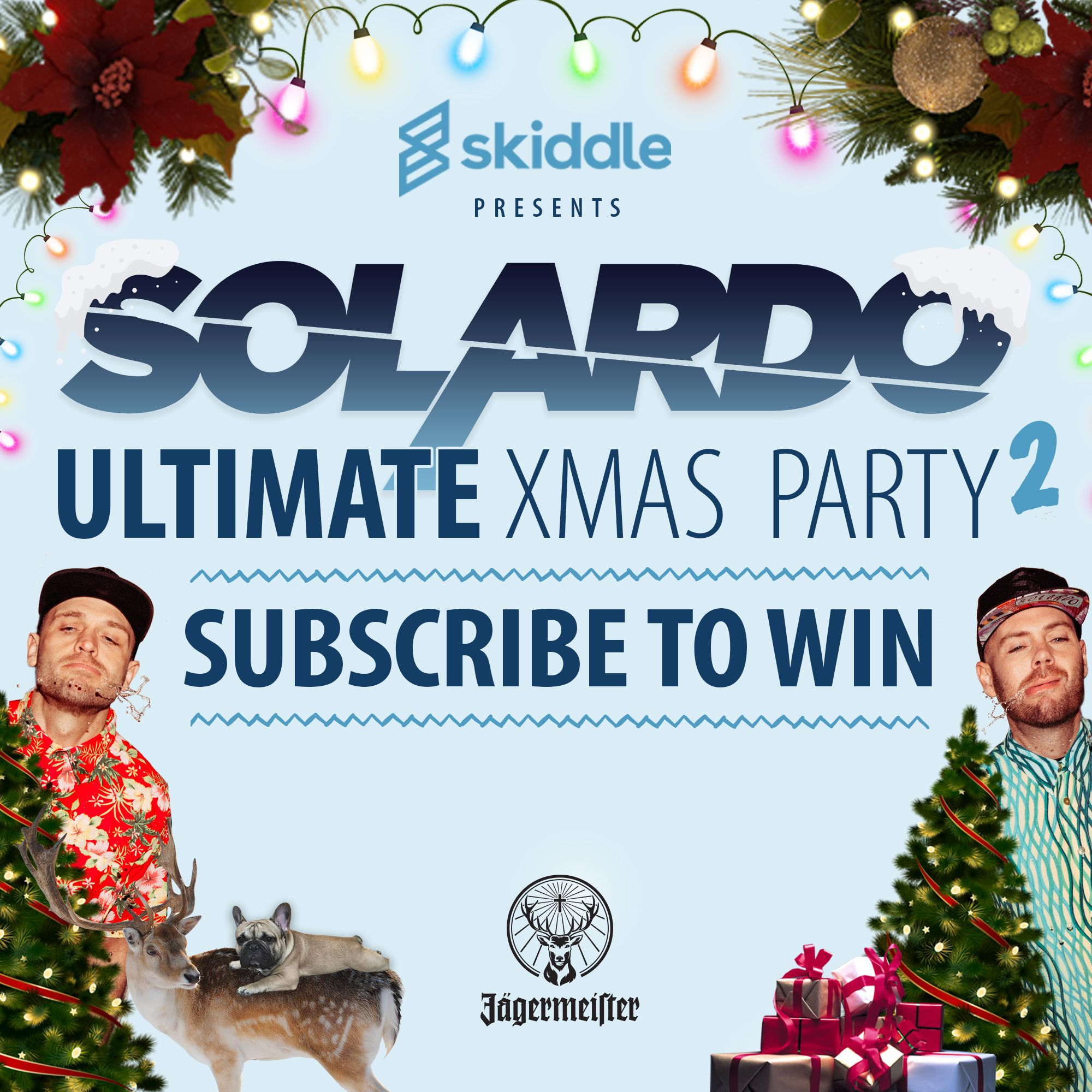 Uk Duo Solardo Announce Special Christmas Competition Hugely Popular Mancunian Pair Solardo James Eliot Christmas Competitions Christmas Special Xmas Party