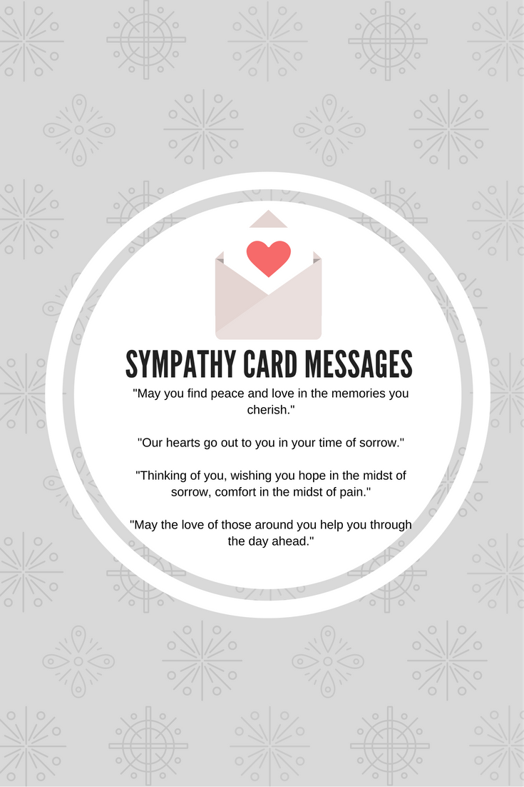 What To Write In A Business Sympathy Card Some Sample Messages