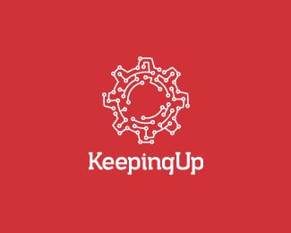 keeping up logo design | more logos http://blog.logoswish, Powerpoint templates