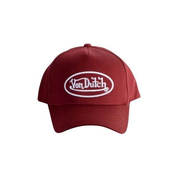 d8828470340 Von Dutch Cap Tom Cap (3875 DZD) ❤ liked on Polyvore featuring accessories