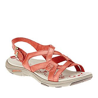 e42a91702c4f Good for ALOT of Walking - Merrell Women s Agave 2 Lavish Strappy Sandals  (FootSmart.com)