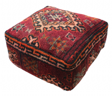 Kilim Rug Poufs Pouffes Ottomans In 2020 Rugs On Carpet Floor