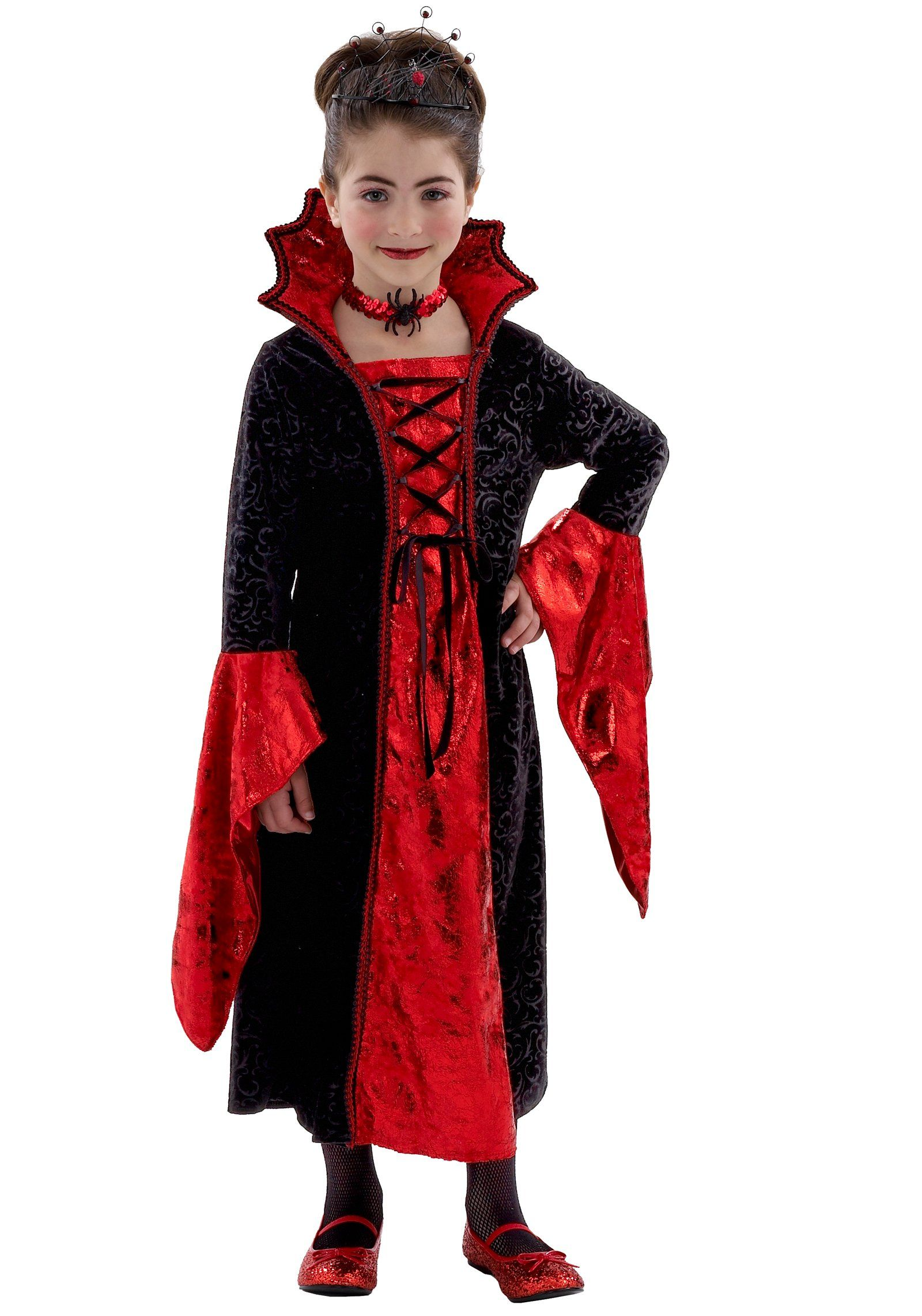 dracula mistress child costume from buycostumescom - Halloween Dracula Costumes