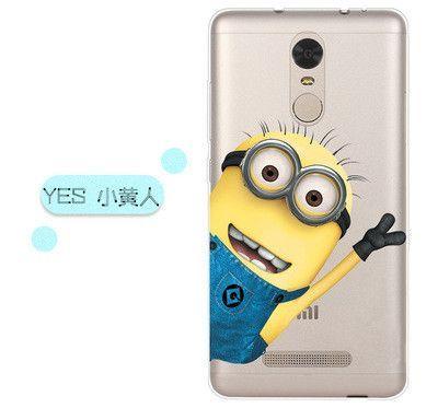 Xiaomi Redmi Note 3 Case Cover 0.5mm Ultrathin Cartoon Transparent TPU Soft Back Cover Phone Case For Xiaomi Redmi Note 3