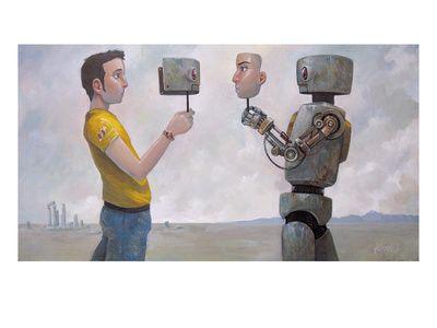 The Real You  Giclee Print  by Aaron Jasinski