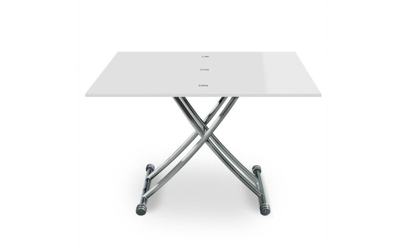 Table Basse Relevable Carrera Blanc Laque Table Basse Relevable Table Basse Table Basse Blanche
