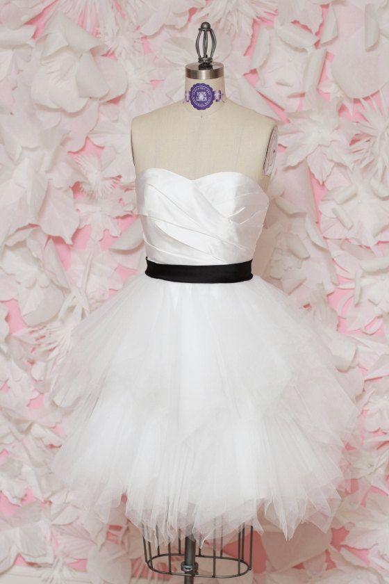 reception dress tulle