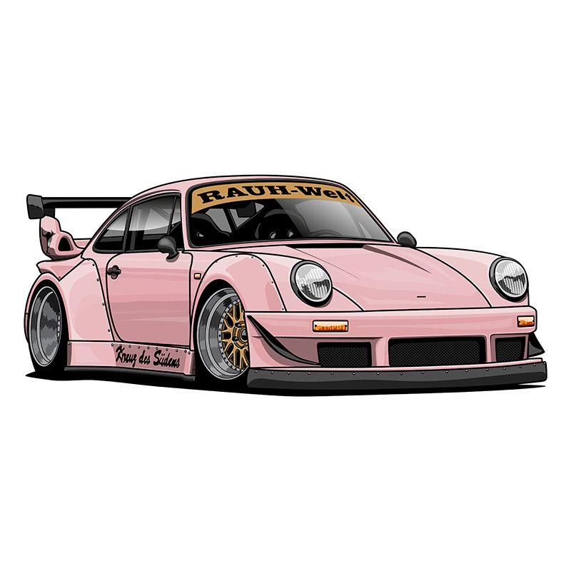 Oleg Markaryan on Behance | Cool car drawings, Art cars ...