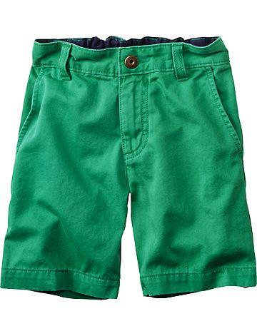 Superwashed Twill Shorts from #HannaAndersson.