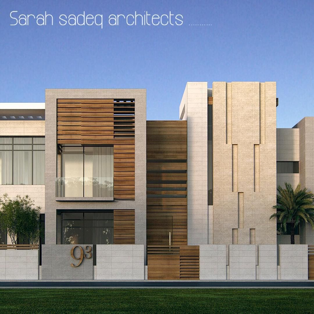 """Front Elevation Of Houses In Uae : """"soon m uae by sarah sadeq architects"""