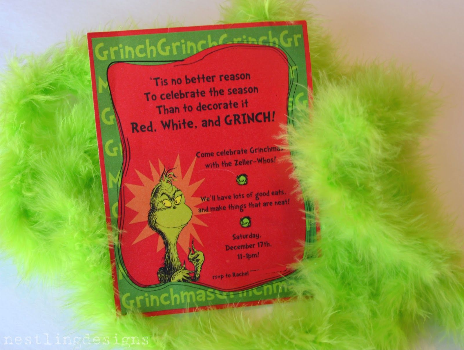 Grinch Christmas Party, Grinch Christmas