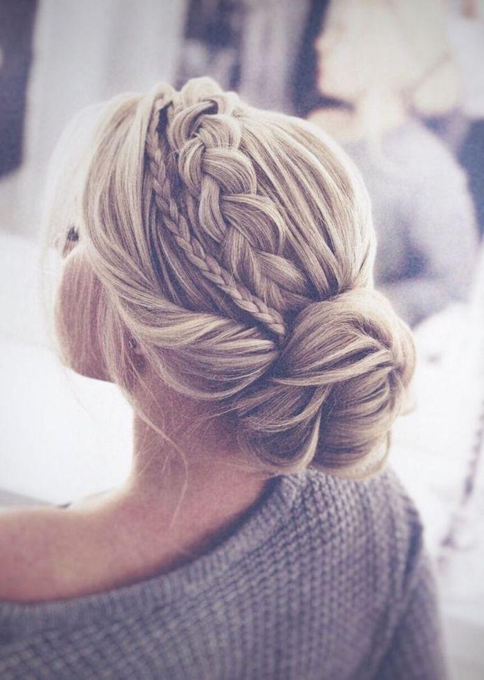 ▷ 1001 + ideas - trendiest wedding hairstyles for wedding season 2019 -   20 hair Bun braid ideas