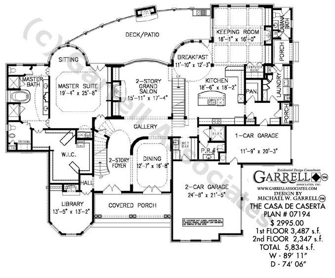 Charmant Casa De Caserta House Plan 07194, 1st Floor Plan, Southwestern Style House  Plans,