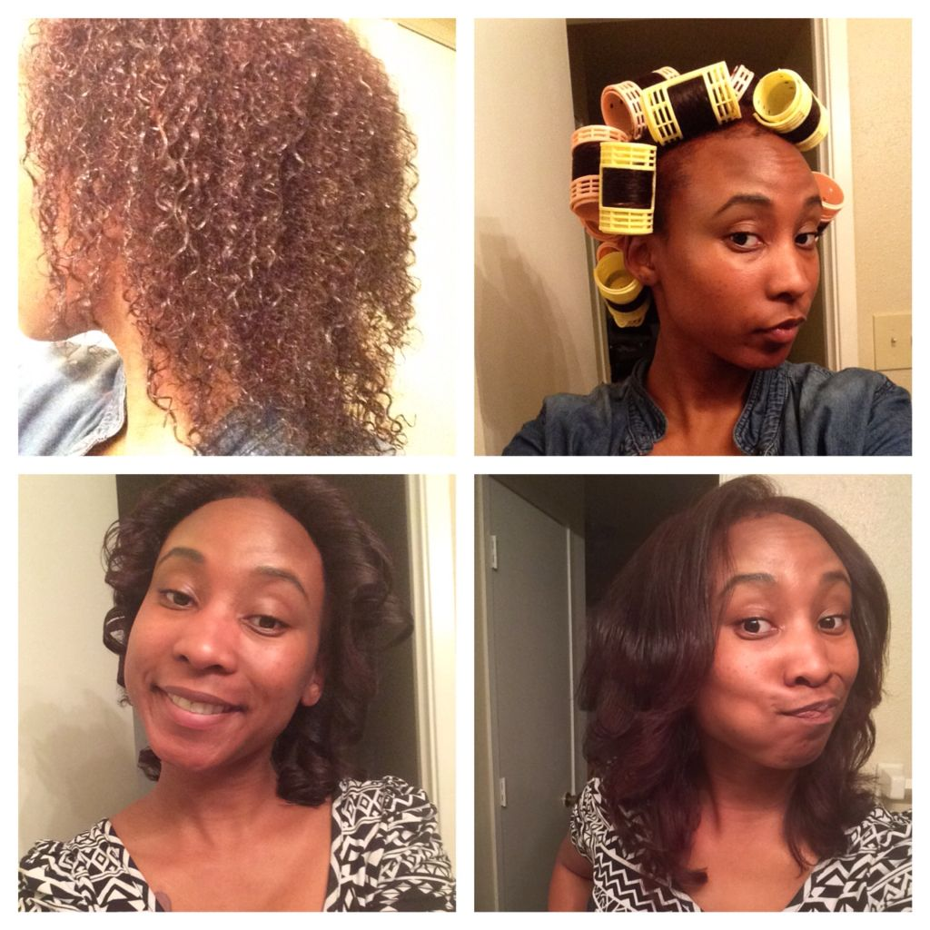 No More Dominican Blowouts Thank God For Magnetic Rollers Natural Hair Diy Natural Hair Blowout Organic Hair