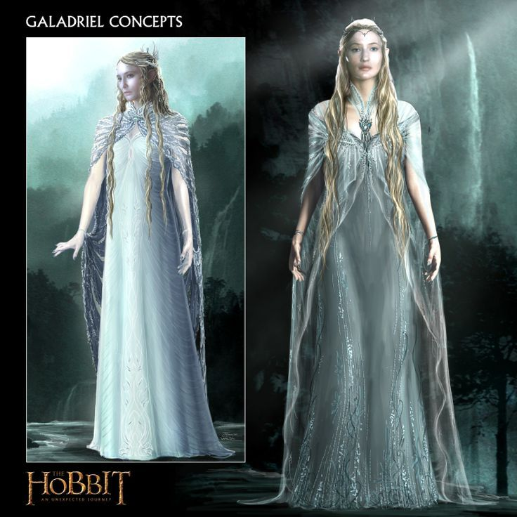 Galadriel - concept art - The Hobbit - An Unexpected ...