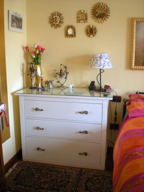 Modified Ikea Hemnes Chest Of Drawers Knobs Changed Cut