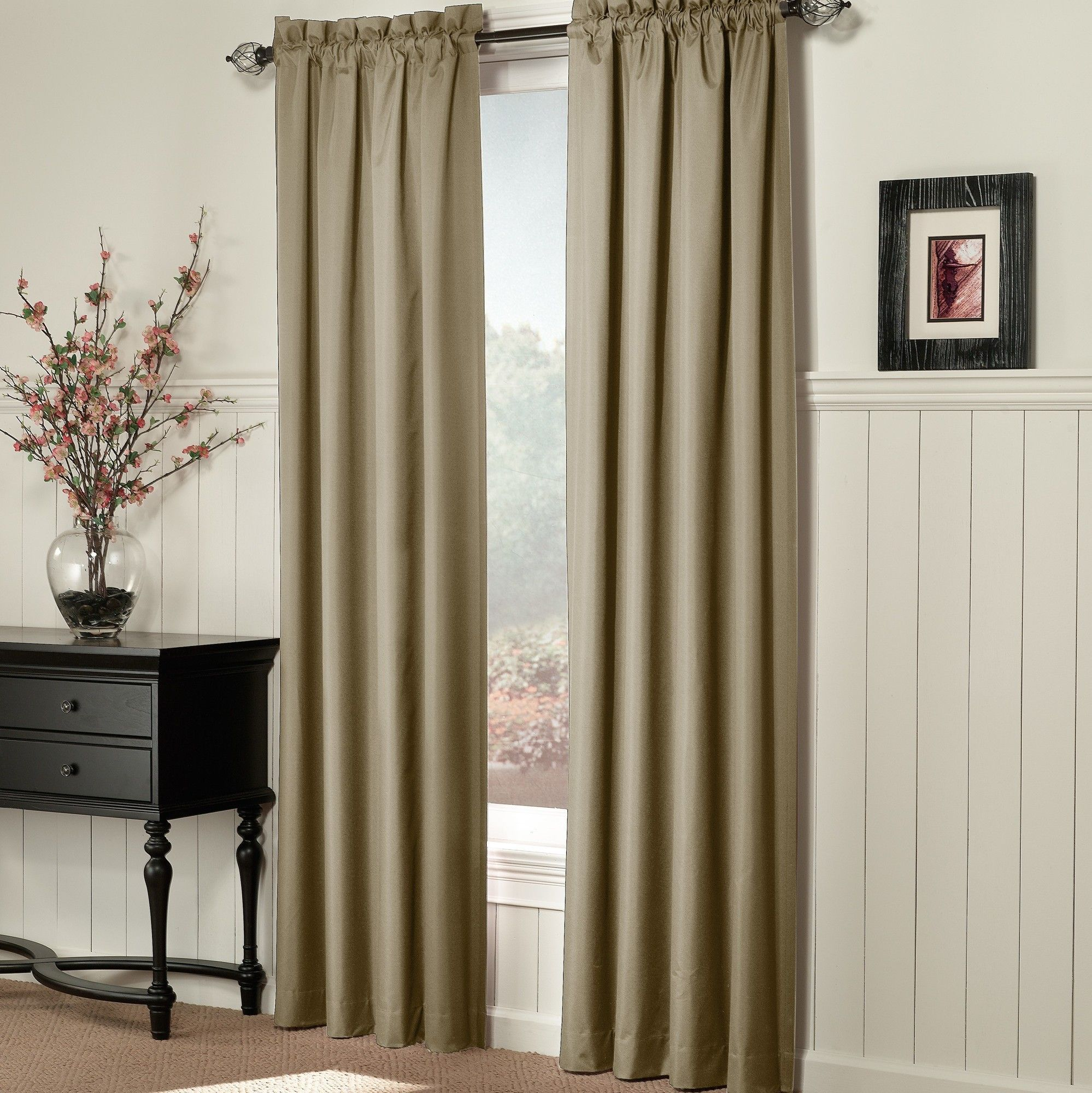 Brockton Thermal Lined Single Curtain Panel
