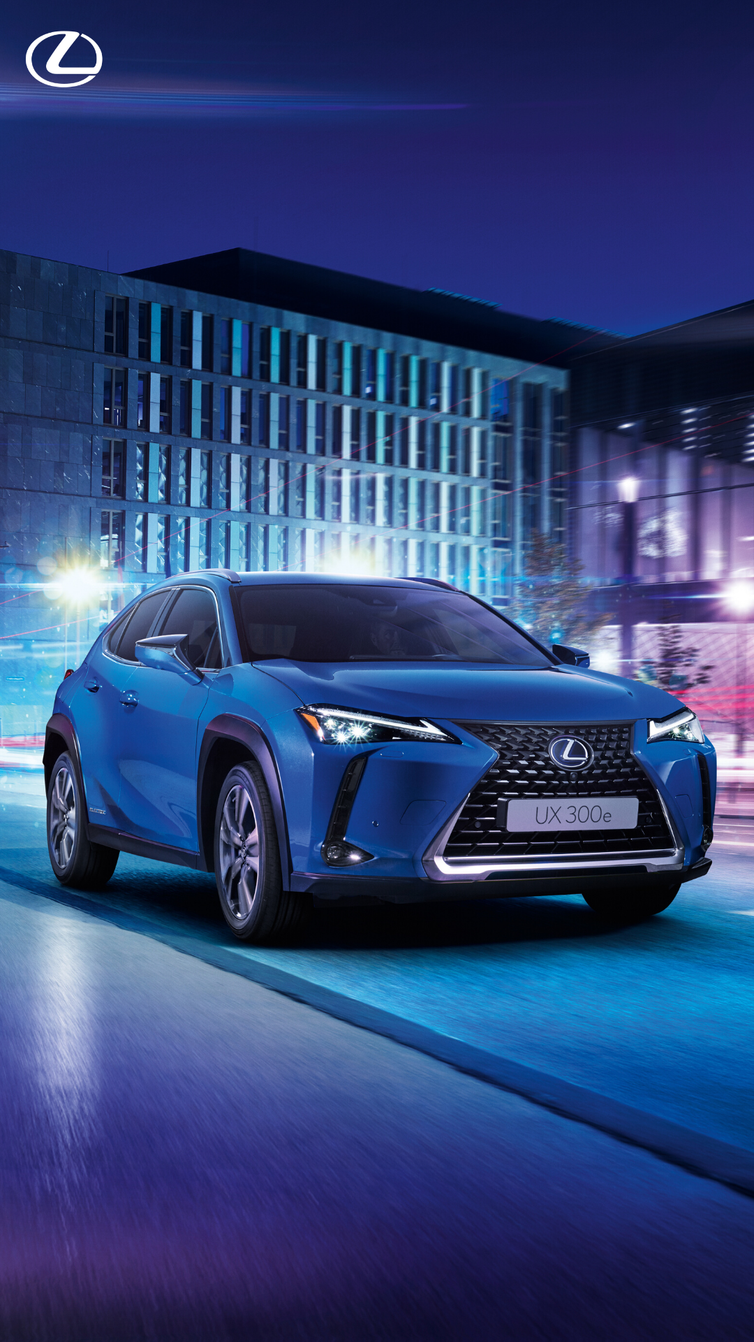 The new Lexus UX 300e electric car carries over the distinctive styling and high functionality of the Lexus UX compact SUV for excellent on-road performance. Click to find out more. #Lexus #LexusUX #UX300e #ElectricCars #NewCars #Electric #LuxuryCars #SUV #LuxurySUV #FamilySUV