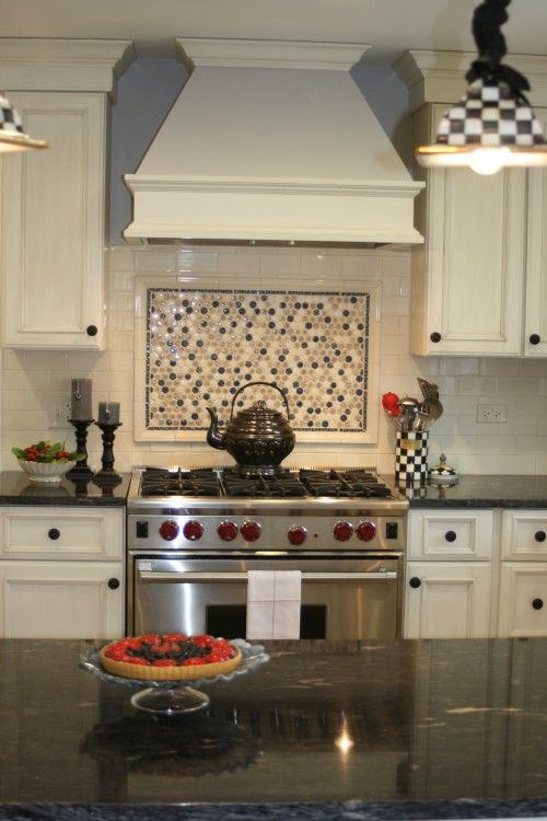 Way To Tie In Subway Tiles With Colorful Mosaic Tiles