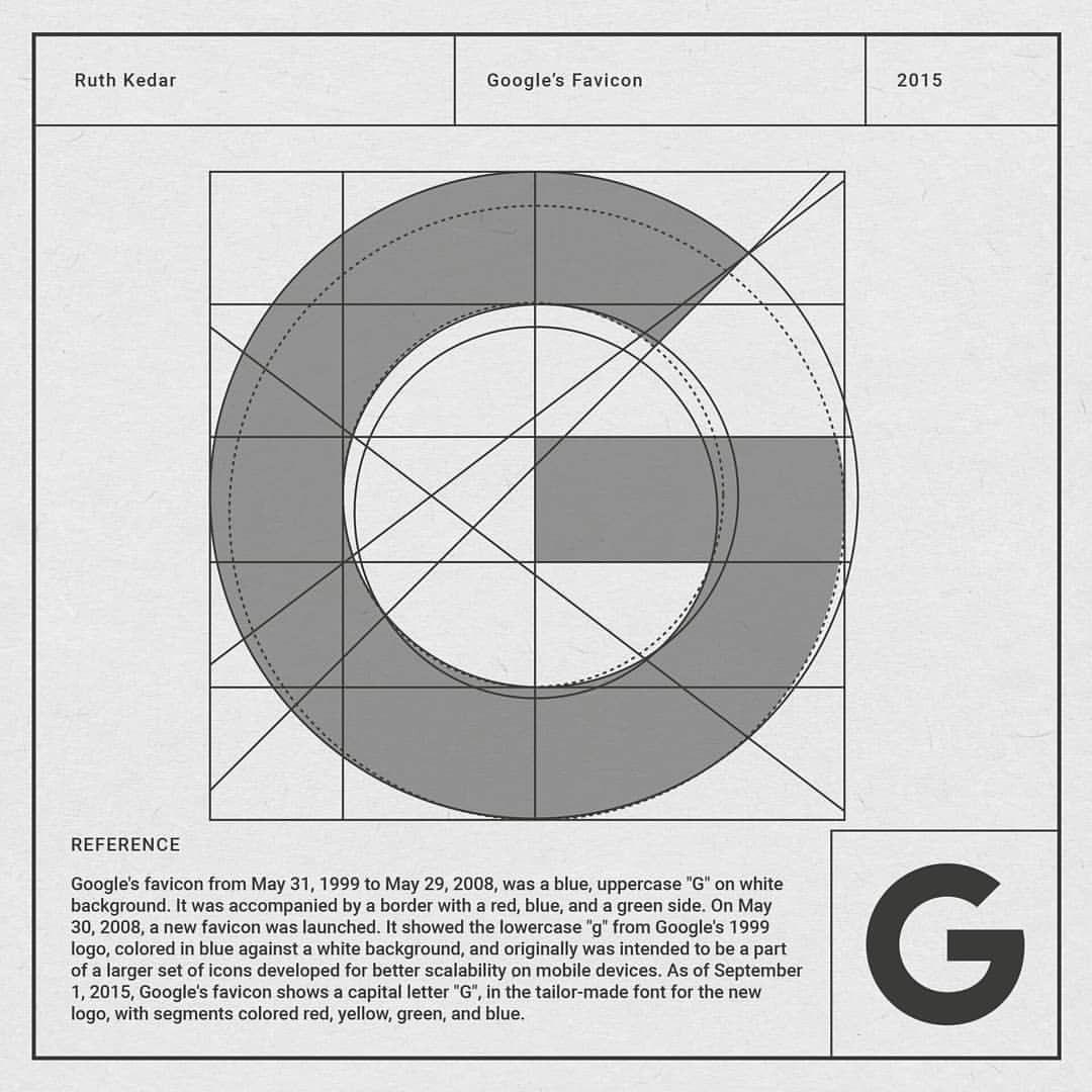Google Favicon ____________ Designer Ruth Jesse