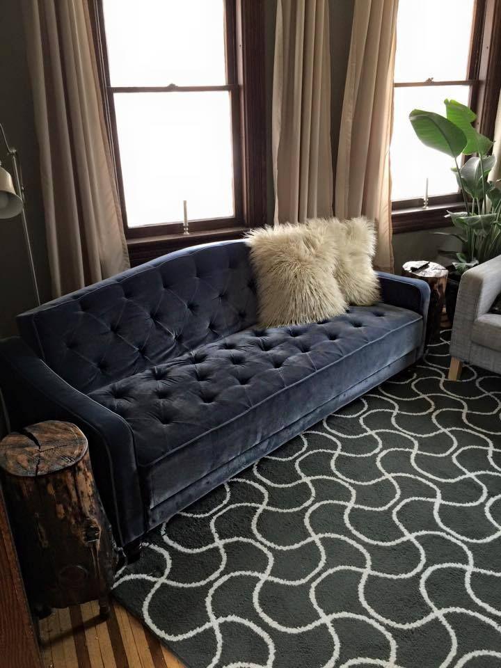 Novogratz Vintage Tufted Sofa Sleeper II, Multiple Colors - 9 By Novogratz Vintage Tufted Sofa Sleeper II, Multiple Colors