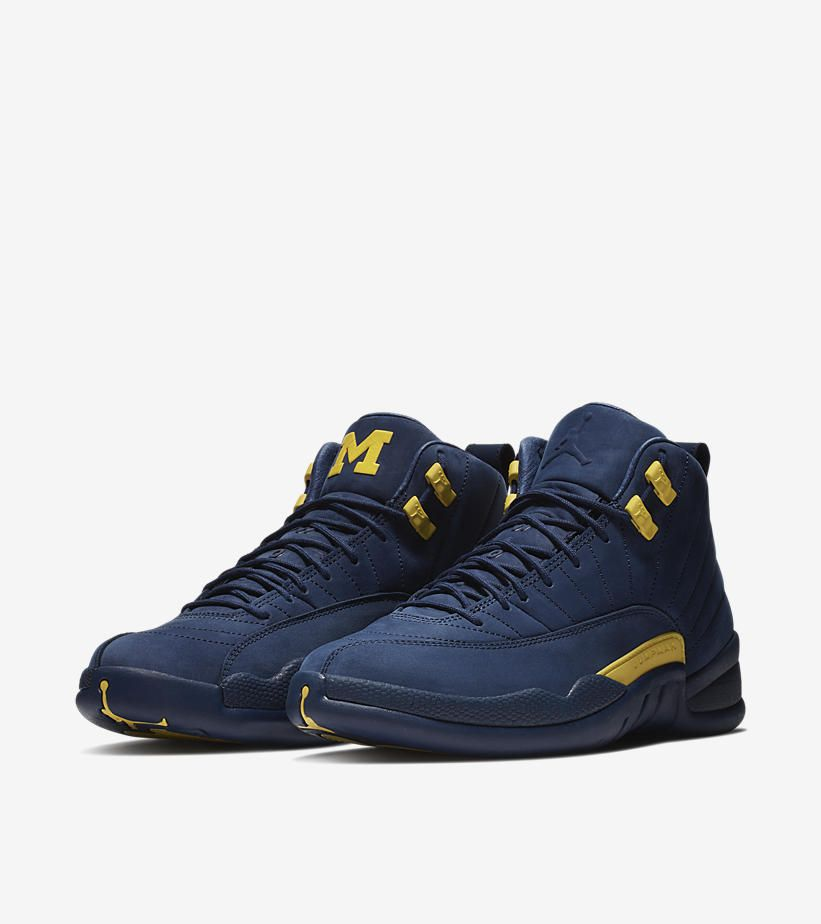 separation shoes 50a18 c8a18 Air Jordan XII (12) Retro 'Michigan' -Release Date: Saturday ...