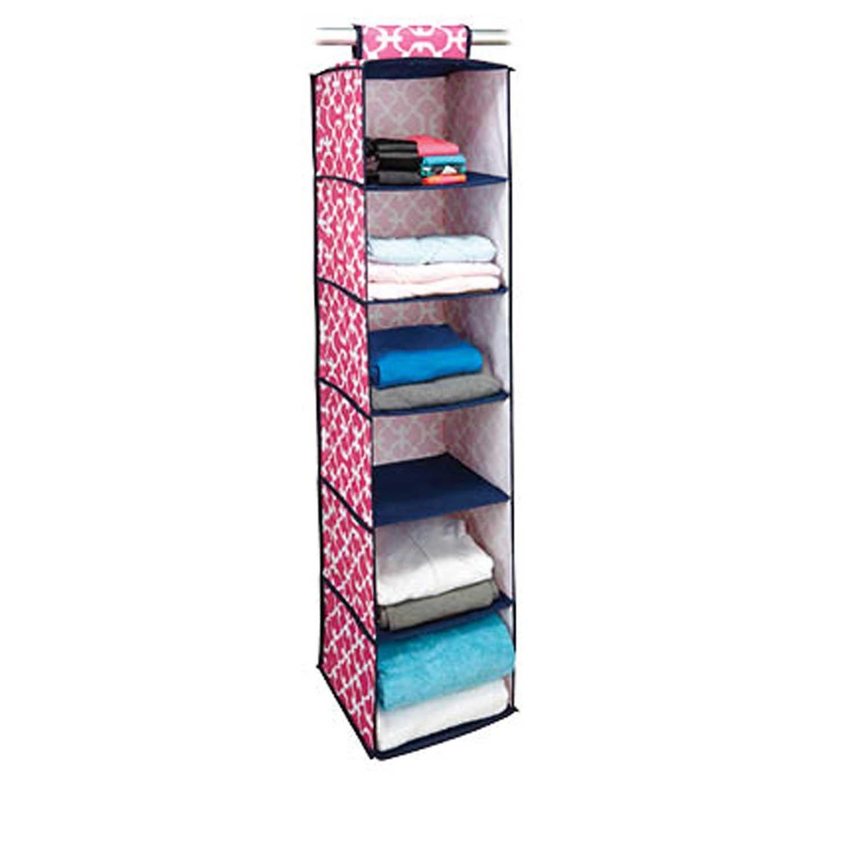 Organization #dormify Six Shelf Sweater Organizer   Pink Scout   Closet +  Bath
