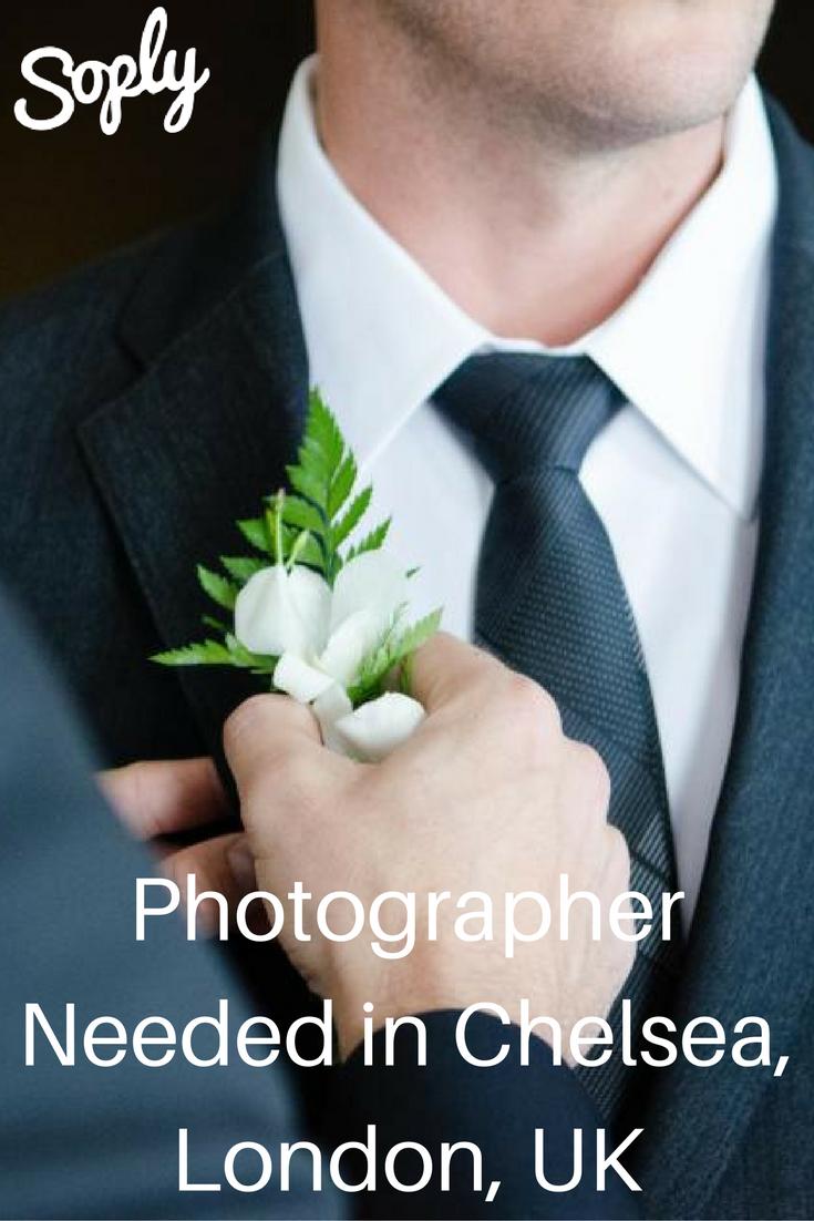 Wedding Photographer Needed In Chelsea London Uk On December 19th