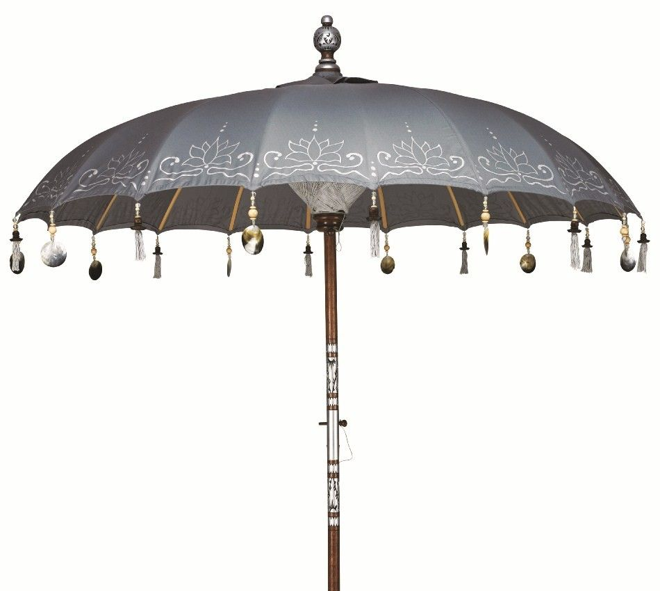 garden parasol - silver sands - india | ingarden.co.uk | interior
