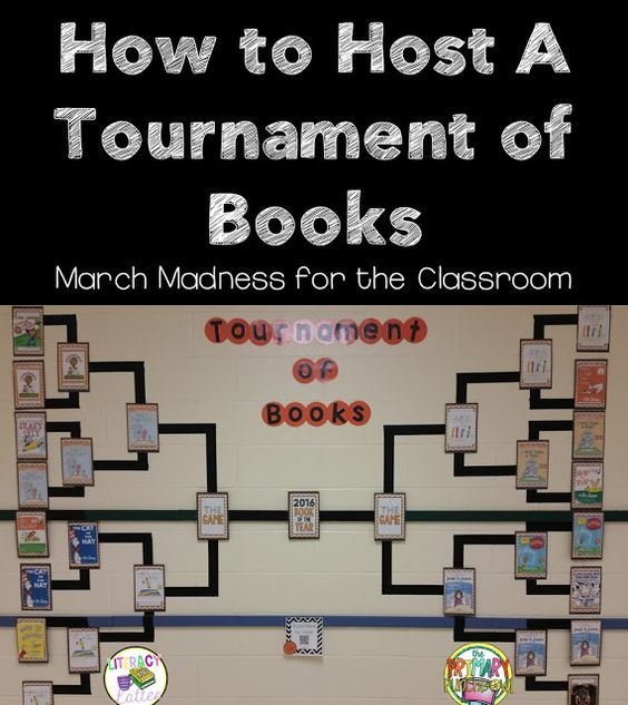 How To Host A Tournament Of Books In The Primary Classroom With Help