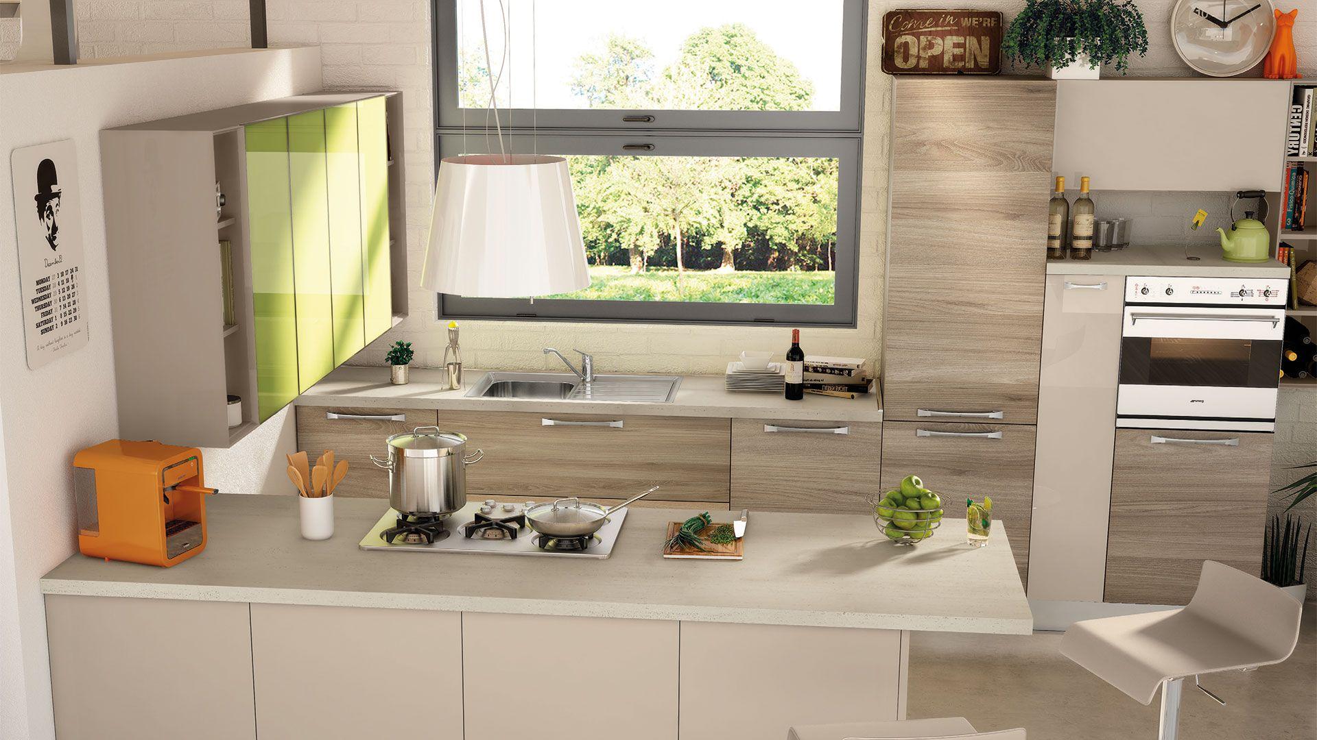 Noemi - Cucine Moderne - Cucine Lube | cucina nel 2019 ...