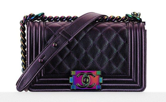 7d9ea568cbc633 chanel-metallic-boy-bag-cruise-2015-rainbow-iridescent-hardware-3 ...